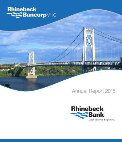 Rhinebeck Bank Annual Report 2015