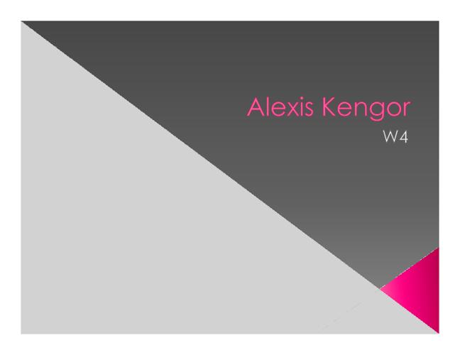 Alexis Kengor