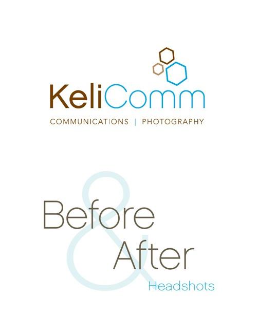 KeliComm Before & After Headshots