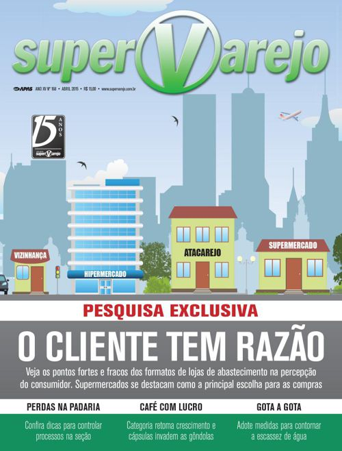 Revista SUPERVAREJO nº 168  Abril