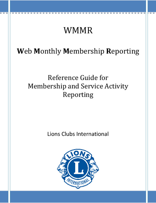Wmmr Reference Guide