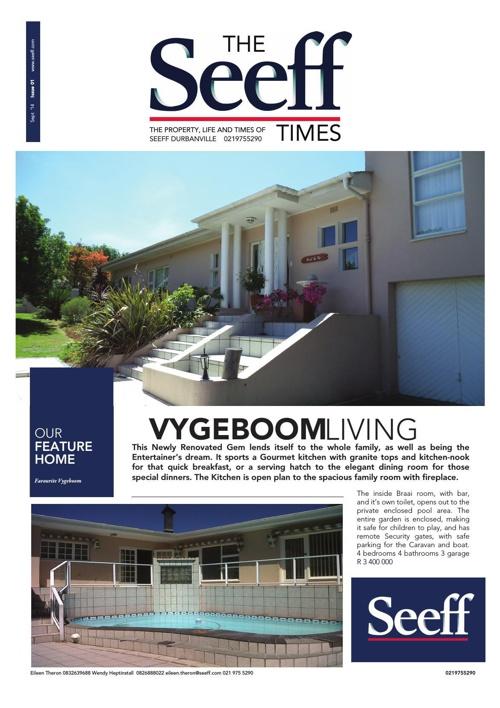 Durbanville Seeff Times September 2014