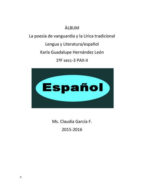 español 5 bimestre