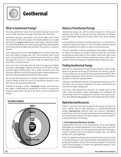 Geothermal Student Handbook