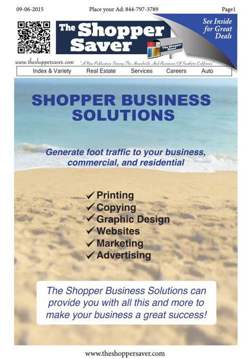 Copy of The Shopper Saver Flip Book