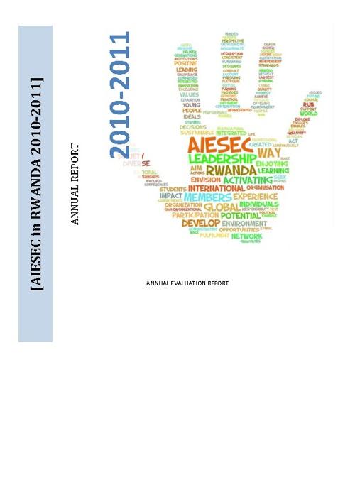 AIESEC RWANDA 2010-2011 Report