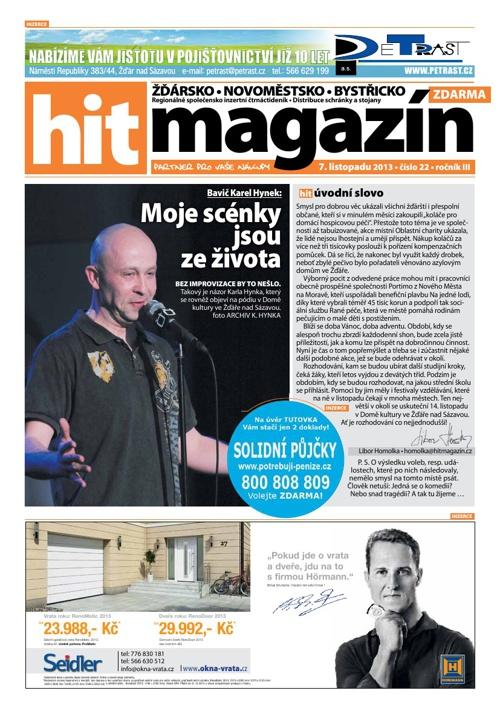Hit magazín č.22 2013