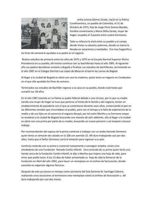 Biografia Martha Gomez pdf