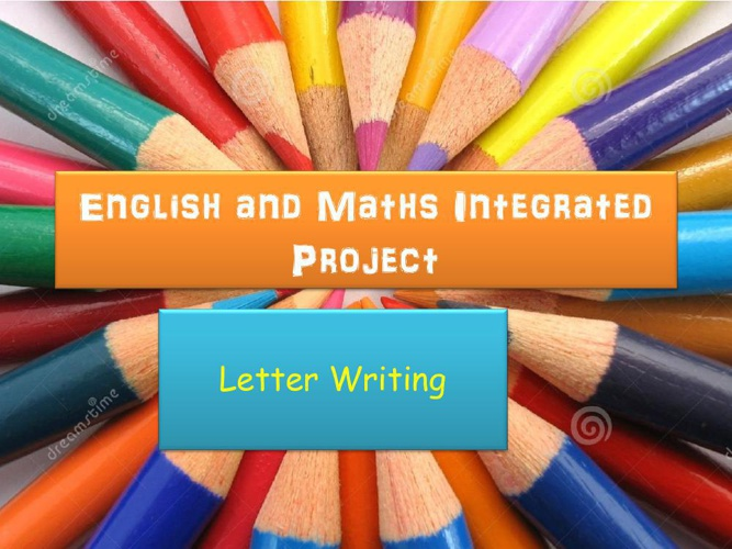 English and Maths Integrated Project