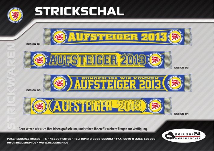 Eintracht Braunschweig - Aufsteiger 2013