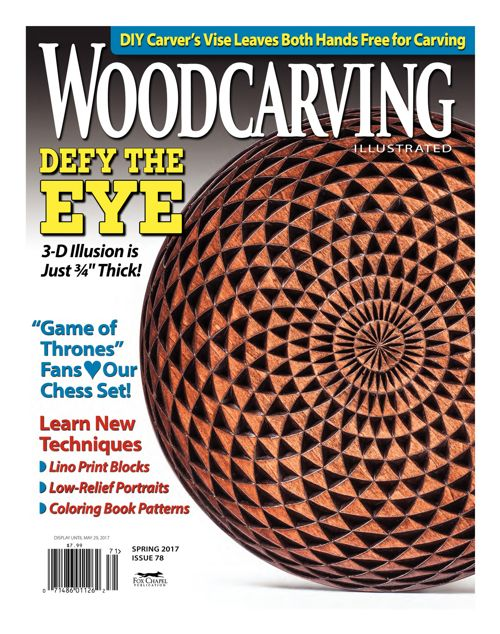 Woodcarving Illustrated Issue 78 - Spring 2017