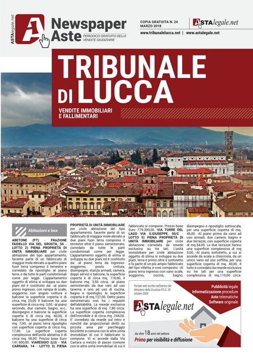 Lucca marzo 2018
