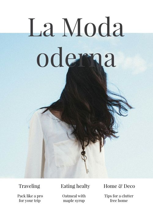 Collin McAdams Spanish Fashion magazine project