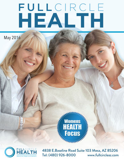 May Full Circle Health Newsletter - Women's Health