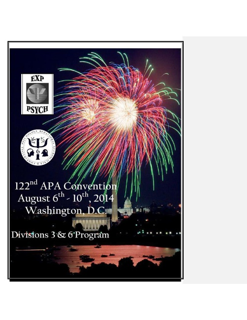APA Program 2014 brief
