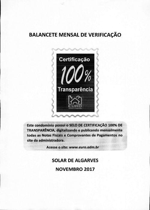 SOLAR DE ALGARVES - 2017/11