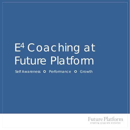 E4 Coaching