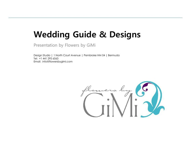 Wedding price Guide and GiMi designs 2015