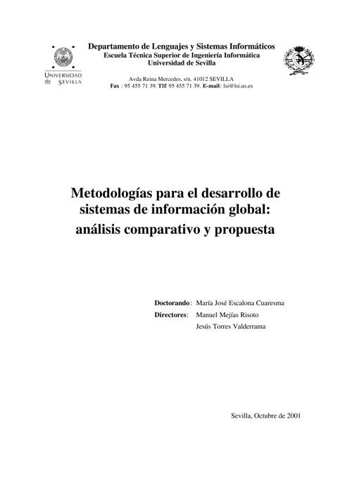 análisis comparativo y propuesta