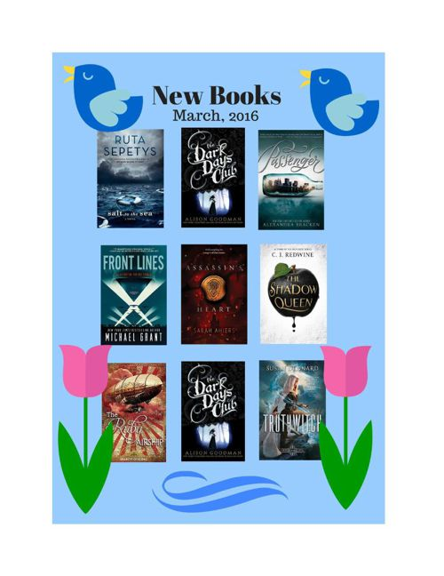 New Books March 2016