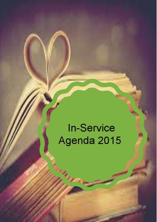 In-Service Agenda