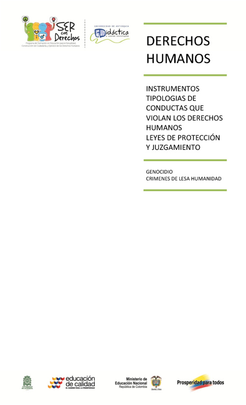 DDHH Instrumentos,tipologias y leyes
