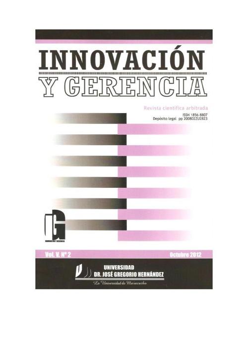Revista Científica Arbitrada Innovación y Gerencia