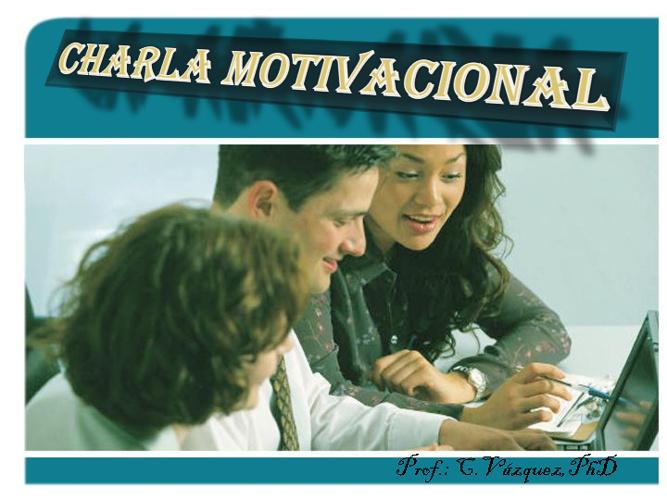 CHARLA MOTIVACIONAL
