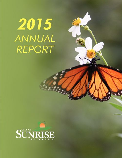 City of Sunrise - 2015 Annual Report