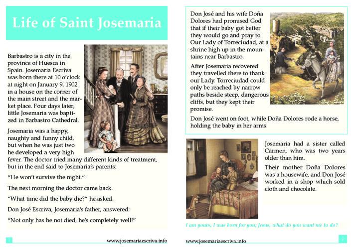 Life of Saint Josemaria