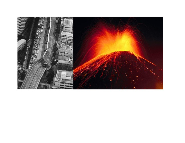 History of Volcanoes and Earthquakes