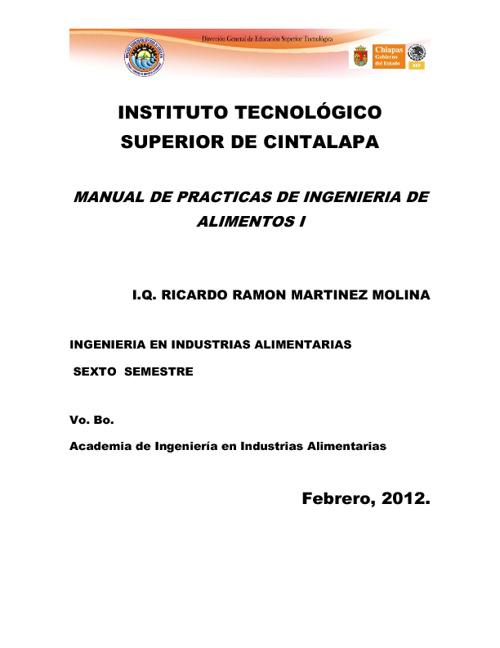 MANUAL DE PRACTICAS DEING DE ALIMENTOS 1