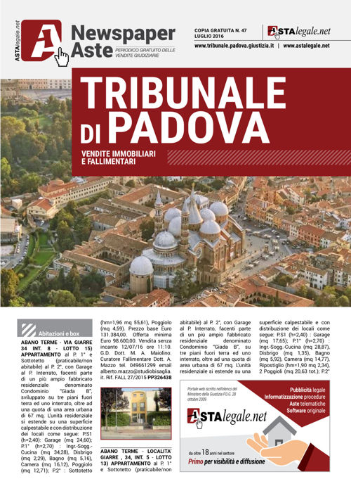 Padova luglio 2016
