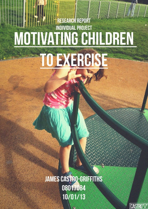 Motivating Children To Exercise