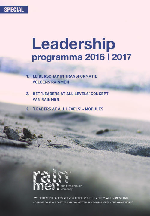 Rainmen Leadership Programma 2016 | 2017
