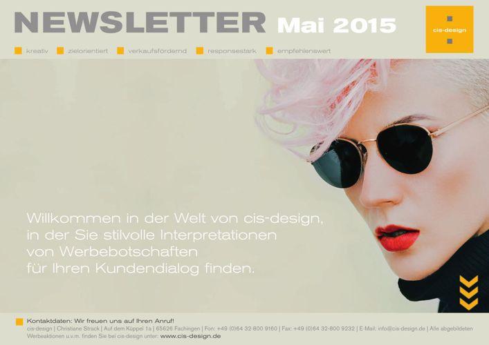 Mai_2015_cis-design_e-book_Sommer Mailingkarten und Broschüren