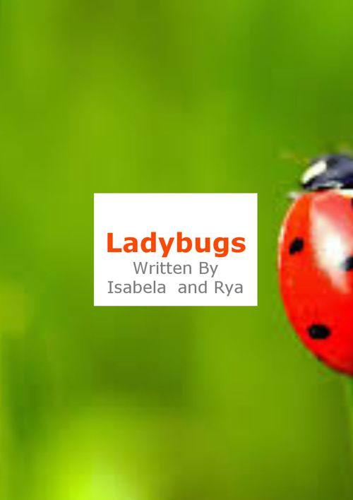 Ladybugs by Isabella