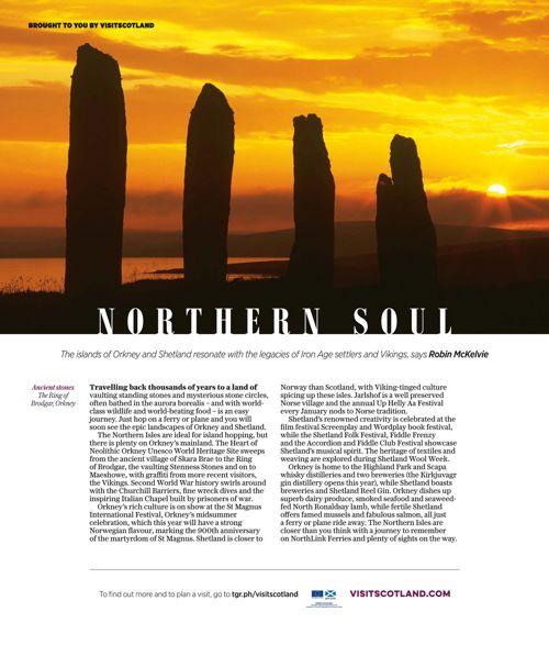 Visit Scotland - Telegraph Magazine