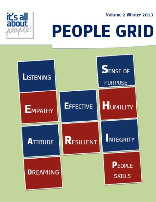 PEOPLE GRID Volume 2 Winter Edition