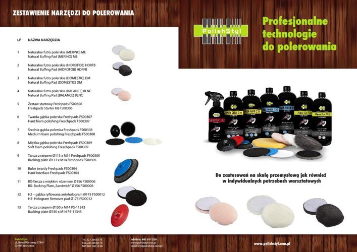 Katalog - Polerowanie 2014