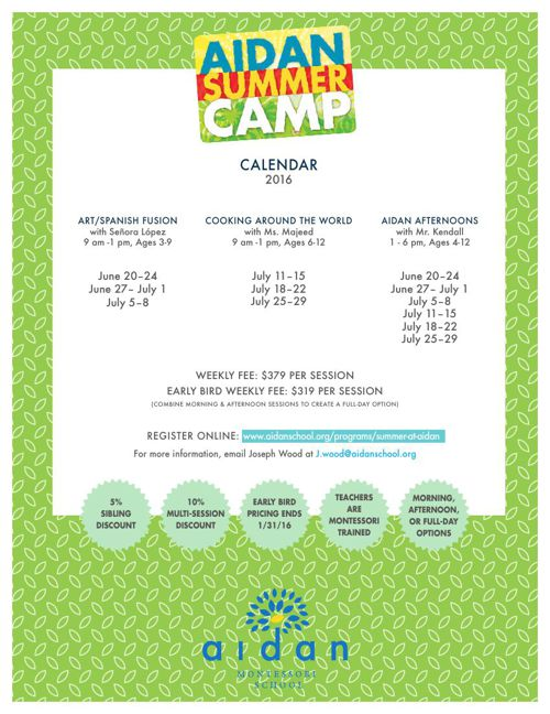 Updated Summer Camp Flyer_2016