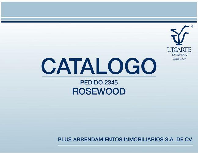 Catalogo Ok Rosewood