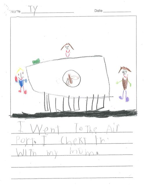 Ty's Published Writing
