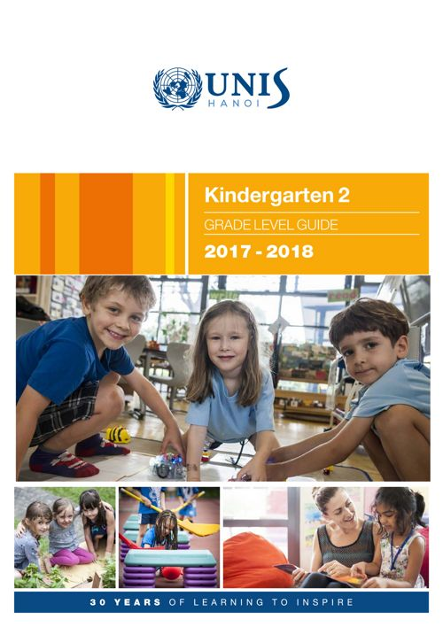 Kindergarten 2 Curriculum Guide 2017-2018