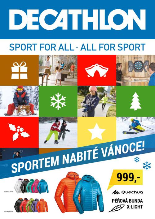 Sportem nabité Vánoce!