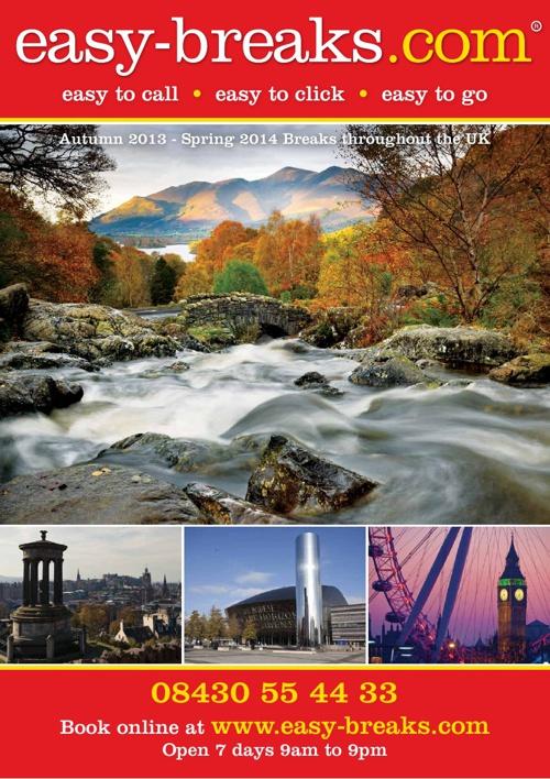 easy-breaks.com Autumn Winter Brochure 2013