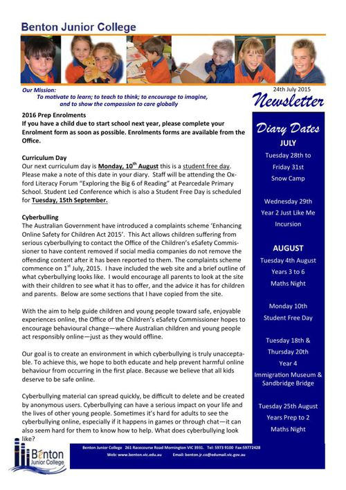 Copy of BJC Newsletter May 2015