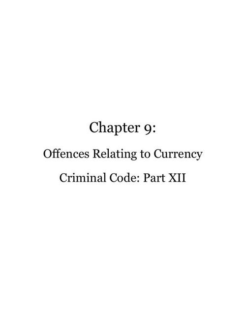 Criminal Code Scrapbook Edition 3