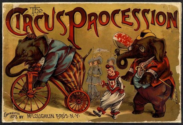 The Circus Procession (1888)Book