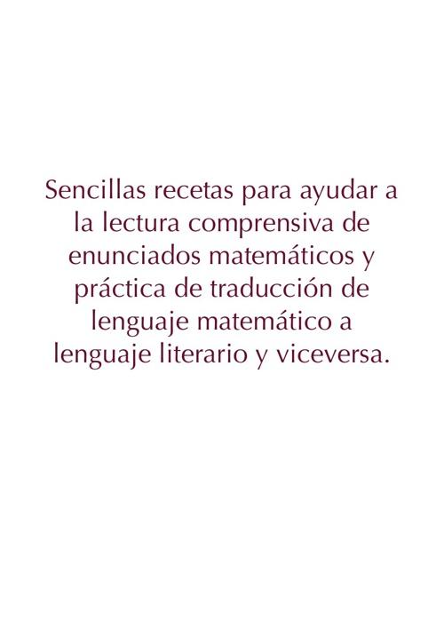Lengua y matemáticas